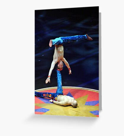 Bionic Brothers Greeting Card