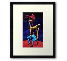 Contortionists Framed Print
