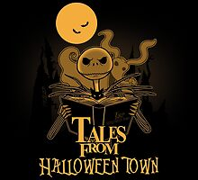 Tales from halloween Town by boggsnicolas