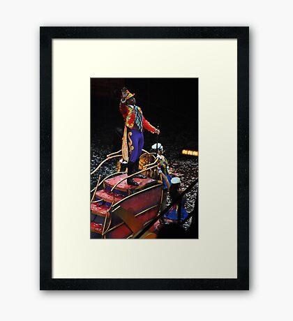 Ring Master Framed Print