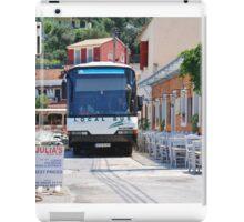 Local bus on Paxos iPad Case/Skin
