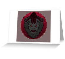 The Bloodmoon [League of Legends] Greeting Card