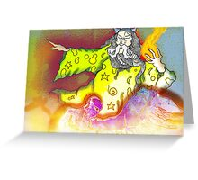 Wizard walks by... Greeting Card