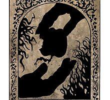 Adam & Eve / Upside Down :3  by evon ski