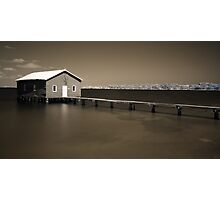 Crawley Boatshed Photographic Print