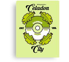 Pokemon Celadon City Canvas Print