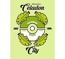 Pokemon Celadon City Photographic Print