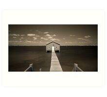 The Boatshed Art Print