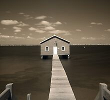 The Boatshed by Artimagery
