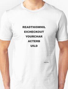 Eye Test - Light T's Unisex T-Shirt