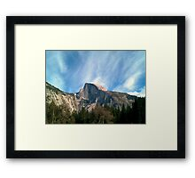 Picturesque Mountain Framed Print