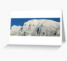 Mount Brown- Glacier Park, Montana Greeting Card
