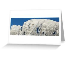 Mount Brown- Glacier Park, Montana Greeting Card