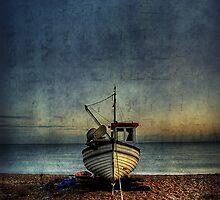 Beach Mooring by Mike Matthews