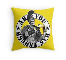 Centurion Throw Pillow