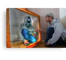 Mirror man  Canvas Print