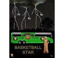 Basketball Star Photographic Print