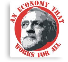 An Economy That Works For All Canvas Print
