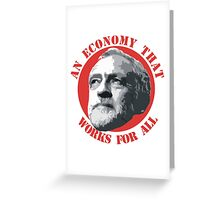 An Economy That Works For All Greeting Card