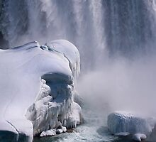 Niagara in Winter by Robin Webster