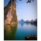 Li River, China Fine Art Poster by fotinos