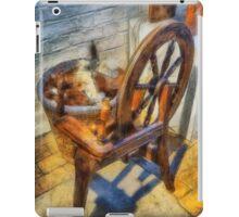 Old Vintage Wheel iPad Case/Skin