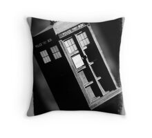 TARDIS Throw Pillow
