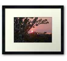 waterloo sunset Framed Print