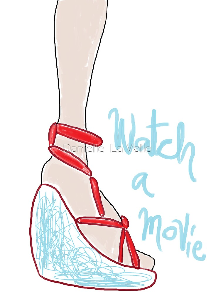 Uplifting Shoe 3 by Danielle  La Valle