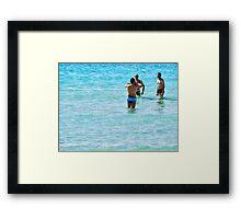 The boys of Summer.. Framed Print