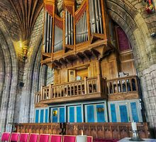Cathedral Organ by Ian Mitchell
