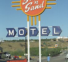 Route 66 - Santa Rosa, New Mexico by Frank Romeo