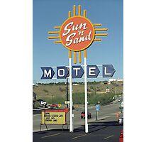 Route 66 - Santa Rosa, New Mexico Photographic Print