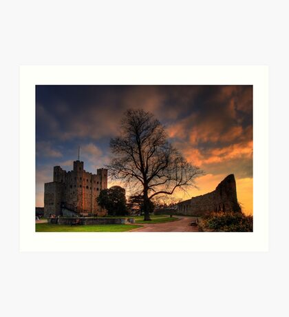 Castle Grounds Art Print