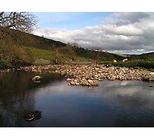 River Wharfe at Yockenthwaite Photographic Print