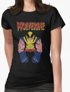 Wolverine X men Womens Fitted T-Shirt