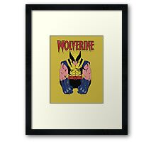 Wolverine X men Framed Print