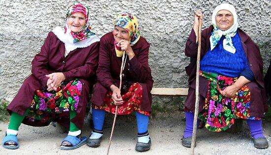 Pomac women in traditional dress by Nasko .