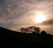 A Beautiful Evening in Wharfedale by Kat Simmons