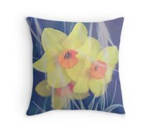 Narcissus Throw Pillow