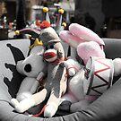 Toys at the Flea Market by contradirony