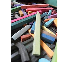 Pastel sticks Photographic Print