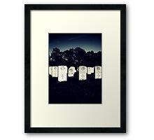 Standing Framed Print