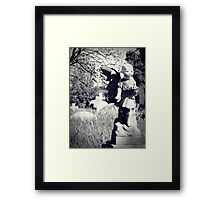 The Lost Head Framed Print