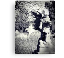 The Lost Head Canvas Print