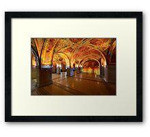 Augusto Giacometti Hall Framed Print