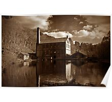 Gibson Mill Poster