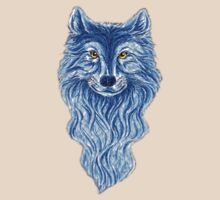 Blue Fox T-Shirt by Walter Colvin