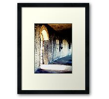 Exit To Light Framed Print