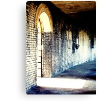 Exit To Light Canvas Print